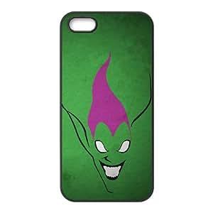 iPhone 5 5s Cell Phone Case Black Superhero Captain America, Spider Man, Iron Man, Wolverine, ant man, Green Arrow, Batman, Joker Logo 17 Uxpbj