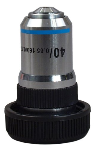 OMAX 40X Achromatic Objective Lens (spring) for Compound Microscopes