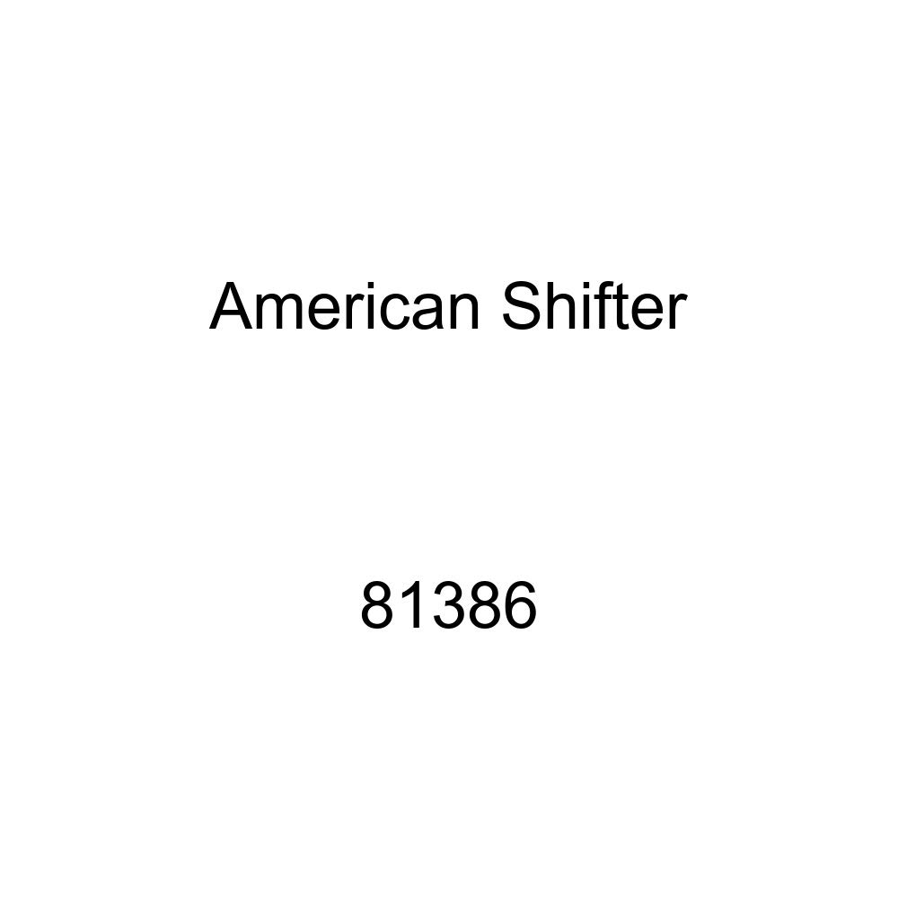 American Shifter 81386 Orange Metal Flake Shift Knob with M16 x 1.5 Insert Red Shift Pattern 26n