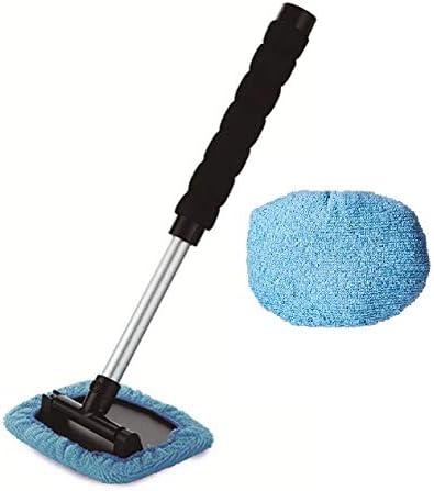 Luminous Group - Herramienta de Limpieza Extensible para Parabrisas (Tapones de Microfibra Reutilizables), Color Azul: Amazon.es: Coche y moto
