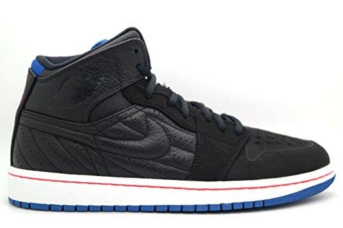 [654140-007] AIR Jordan AIR Jordan 1 Retro 99 Mens Sneakers AIR JORDANBLACK/SPRT BL-Infrrd 23-White (Air Jordan 1 Retro 99)