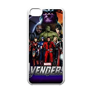 Classic Case The Avengers pattern design For Apple iPhone 5C Phone Case