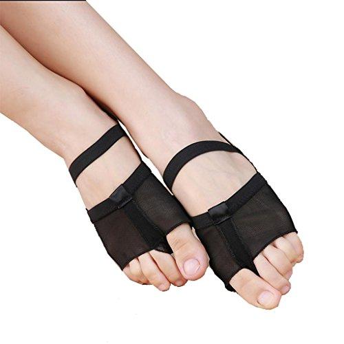 Wgwioo Ballett Fuß Soles / Bauchtanz Fitness Praxis Schuhe Zu Reduzieren Fuß Schmerzen Lindern Fußschmerzen Schuhe Bauchtanz-Praxis-Fuß-Sets Einlegesohlen Neutral 2Er-Pack black