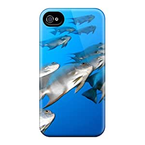 New Arrival Premium 4/4s Case Cover For Iphone (fish Tank)