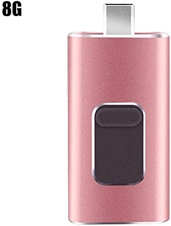 Yumfr 4-in-1 Mini USB Stick Portable USB Flash Drive for Cell Phone PC Computer Universal 8G//16G//32G//64G//128G