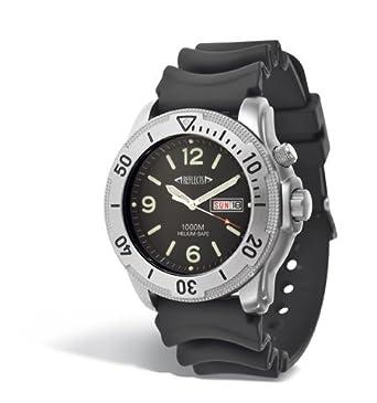 Taucheruhr Armbanduhr 1000m Wasserdicht mit Helium Safe