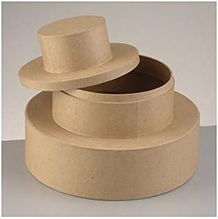 efco 2639709 - Caja de cartón para tarta nupcial (diámetro de 23 cm): Amazon.es: Hogar