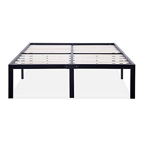 wooden king size bed frame - 7