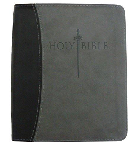 Kjver Sword Bible Personal (KJVER Sword Study Bible/Personal Size Large Print-Black/Grey Ultrasoft)