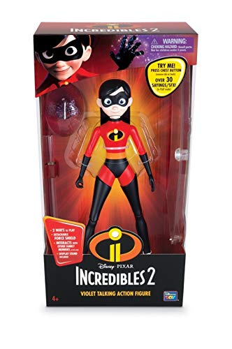 Pixar Collection Violet Interactive Action Figure Thinkway Toys 00384
