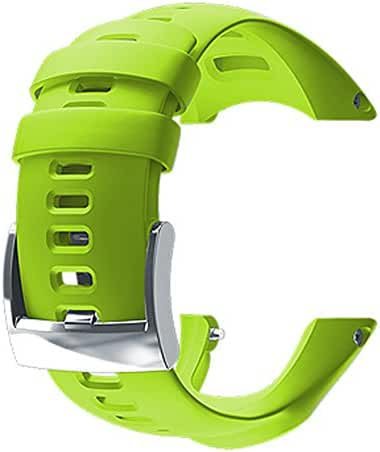SUUNTO AMBIT3 RUN LIME SILICONE STRAP SS021629000