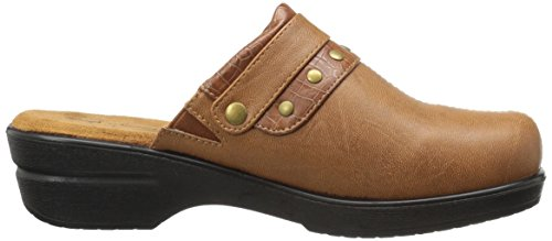 Street Ozone Women's Tan Easy Mule Crocodile aWvxx