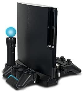 PS3 Slim PlayStation Move and DualShock Charging Station With Stand - Standard Edition