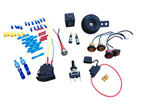 WD Electronics - DIY Street Legal Kit Turn Signal for UTV ATV RZR 1000 900 800 Wildcat Teryx Polaris General Maverick X3 Commander