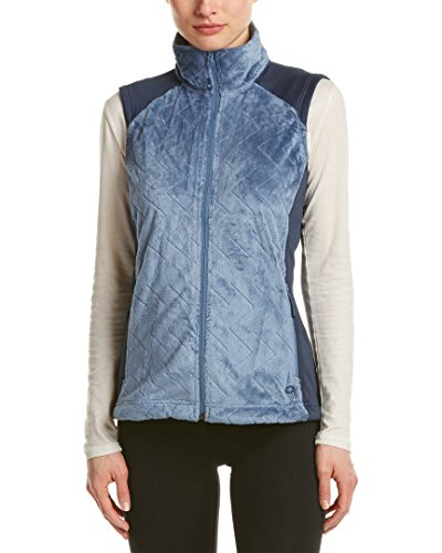Mountain Hardwear Pyxis Stretch Quilted Vest - Women's Mountain / Zinc Medium (Womens Hardwear Vest Mountain)