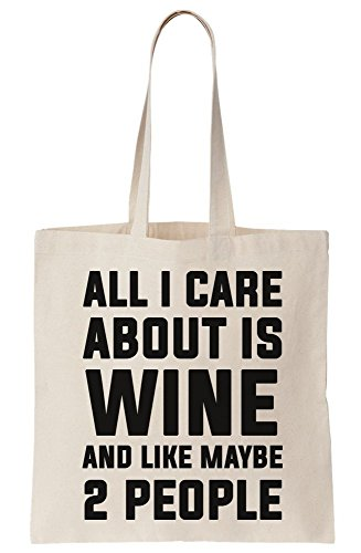 Like Maybe Care 2 People About All Bag Canvas Tote Wine I And Is 40w5c8Yqx