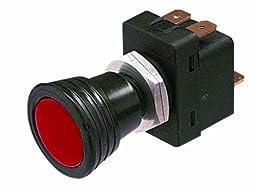 HELLA H61778001 12 V Red SPST Pull Switch