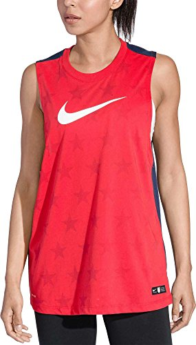 接尾辞不実ピース[ナイキ] レディース シャツ Nike Women's Dry Americana Muscle Tank T [並行輸入品]
