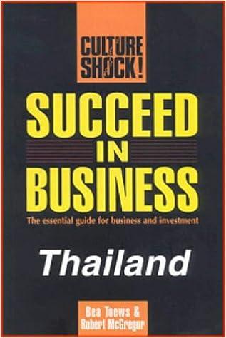 Los mejores ebooks 2015 descargados Succeed in Business: Thailand (Culture Shock!) (Spanish Edition) PDF DJVU by Bea Toews