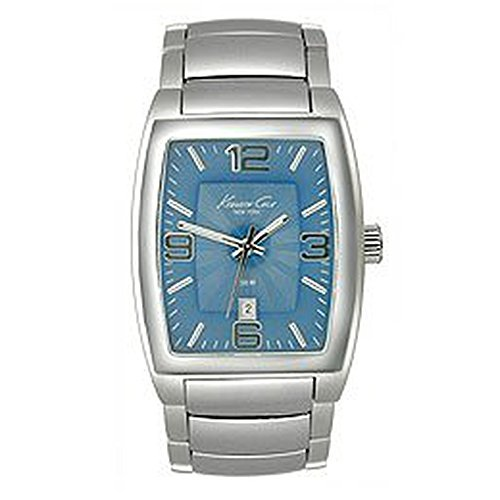 Kenneth Cole New York Silver Dial Watch - Kenneth Cole New York Bracelet Collection Blue Dial Men's watch #KC3484BL