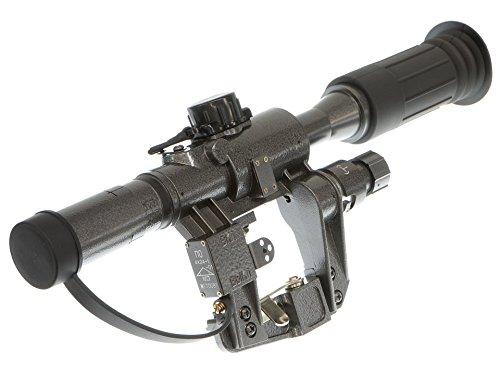 OPT-Crew AK/SVD 4X24 イルミネーションレティクル ライフルスコープ B074K84FFQ