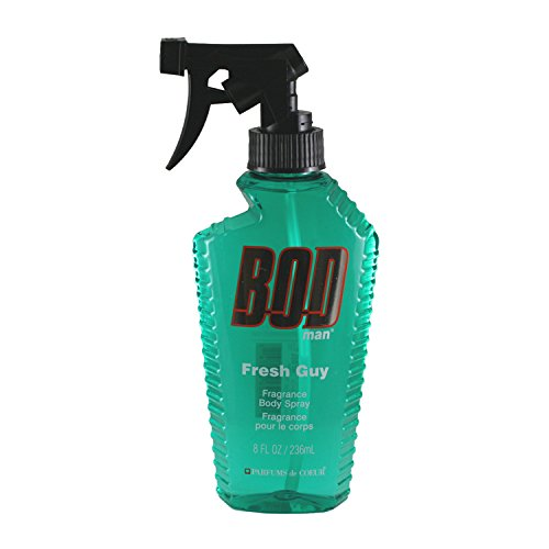 PARFUMS DE COEUR Bod Man Fresh Guy For Men Fragrance Body Spray, 8 oz from PARFUMS DE COEUR