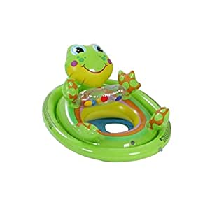 Intex Inflatable Swimming Pool See Me Sit Pool Float Rider For Kids Frog Toys Games