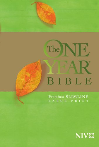 The One Year Bible Premium Slimline LP NIV pdf