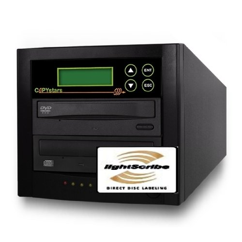 Copystars Lightscribe DVD Duplicator 1 Target Copy Tower by Copystars