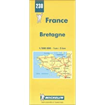 Michelin Bretagne / Brittany Map No. 230