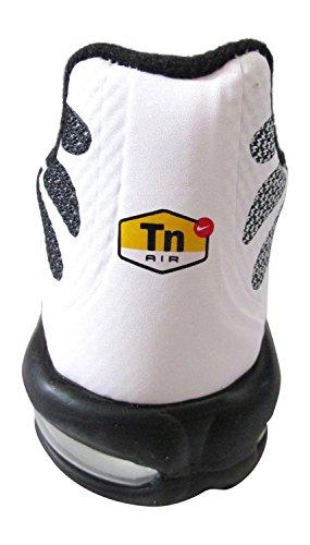 Air Max Plus Fuse Tn Tuned Mens Hyperfuse Entrenadores 483553 zapatillas de deporte (uk 6 7 Nosotros blanco black blanco 101