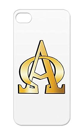 Tpu Orange Case For Iphone 55s Symbols Christian Alpha And Omega