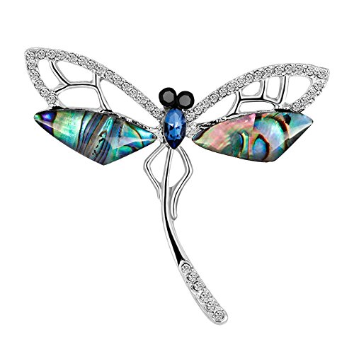 Wansan Dragonfly Brooch Animals Brooches Pins Party Valentine Brooch Collar Jewelry Gift ()
