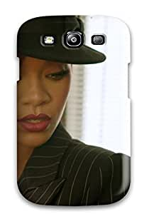 (aHkBxEq4437dJyXq)durable Protection Case Cover For Galaxy S3(rihanna Red Hair ) by icecream design