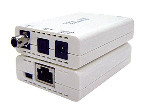 Premium Optical Audio Over Cat5e Cat6 Cable Extender Kit