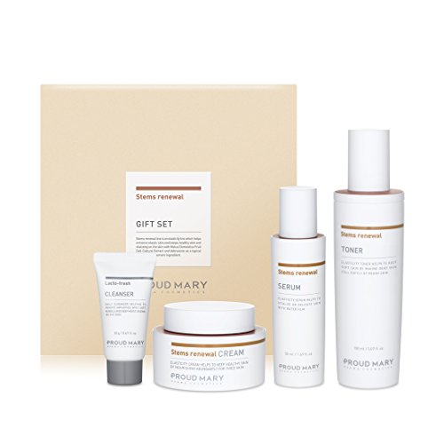[ProudMary] Stems Renewal Gift Set - 150ml+50ml+50ml+30g / anti-aging nutrition skin elasticity