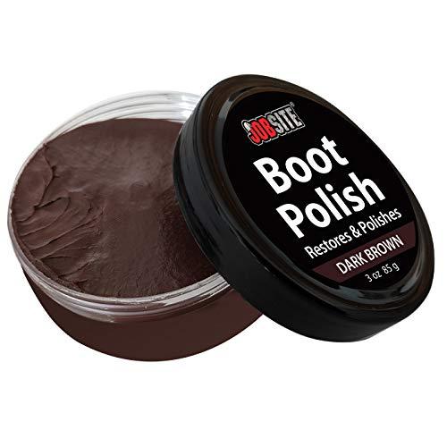 5dc8689bcc347 JobSite Premium Leather Boot & Shoe Polish Cream - Restores ...