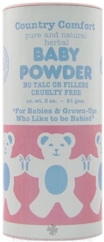 Country Comfort Baby Powder 3 oz (3 pack) by Country Comfort