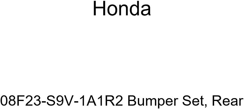 Rear Genuine Honda 08F23-S9V-1A1R2 Bumper Set