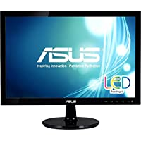 Asus Computer International - Asus Vs197t-P 18.5 Led Lcd Monitor - 16:9 - 5 Ms - Adjustable Display Angle - 1366 X 768 - 16.7 Million Colors - 250 Nit - 50,000,000:1 - Wxga - Speakers - Dvi - Vga - 21 W - Black - Epeat Gold, Erp, J-Moss (Japanese Rohs), Rohs, Weee Product Category: Computer Displays/Monitors