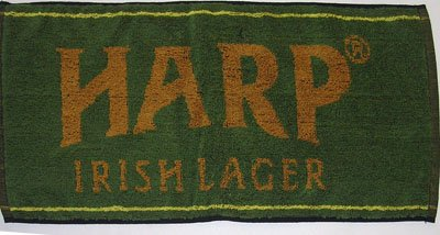 Harp Lager Cotton Bar Towel 20