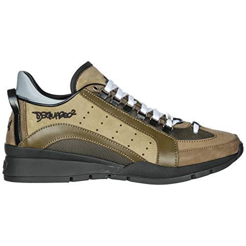 DSQUARED2 SNM0404-13030001 Sneakers Uomo Militare/Nero 44