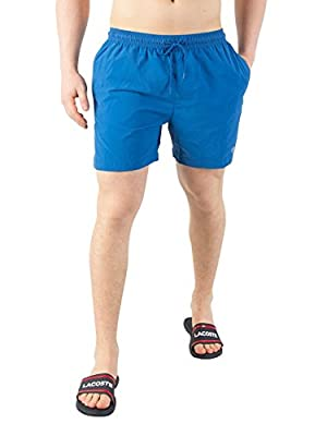 Calvin Klein Men's Medium Drawstring Swim Shorts, Blue
