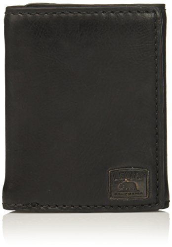 Levis Trifold Wallet Stitch Detail