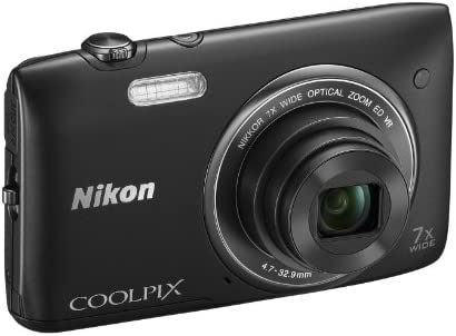 Nikon Coolpix S3500 - Cámara compacta de 20.1 MP (Pantalla de 2.7 ...