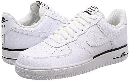 Bianco Fitness Nike Air Scarpe Black 101 Da Force Uomo 1 white '07 6Sqa6Z