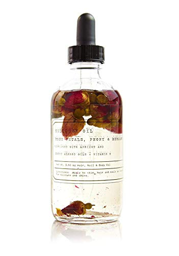 The Petal Collection No.1 ROSE Petal Fragrance Oil - Tru Fragrance - Multi Use Fragrance Oil With Rose Petals, Peony and Bergamot - 4 oz 118 - Collection Oil