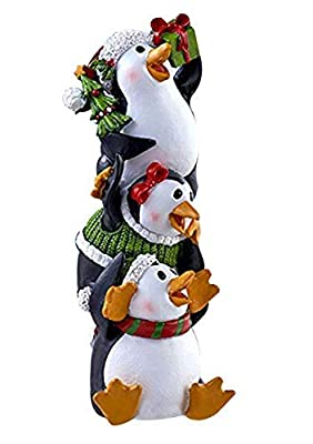 Besti Holiday Christmas Stacker Figurines – Collectable Decorative Christmas Figurines – Lovely Holiday Design – Perfect for Table Centerpiece, Photo Shoot – Original Gift Idea