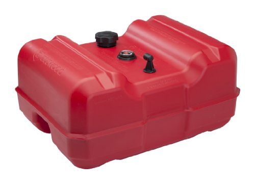 Attwood EPA Compliant Low Profile Fuel Tank with Gauge, 12-Gallon (Gas Tank Outboard compare prices)
