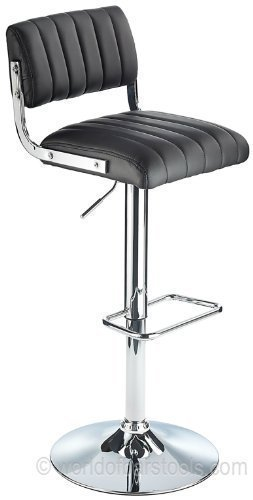 Awesome Costantino Apollo Gas Lift Bar Stool Black Amazon Co Uk Ocoug Best Dining Table And Chair Ideas Images Ocougorg